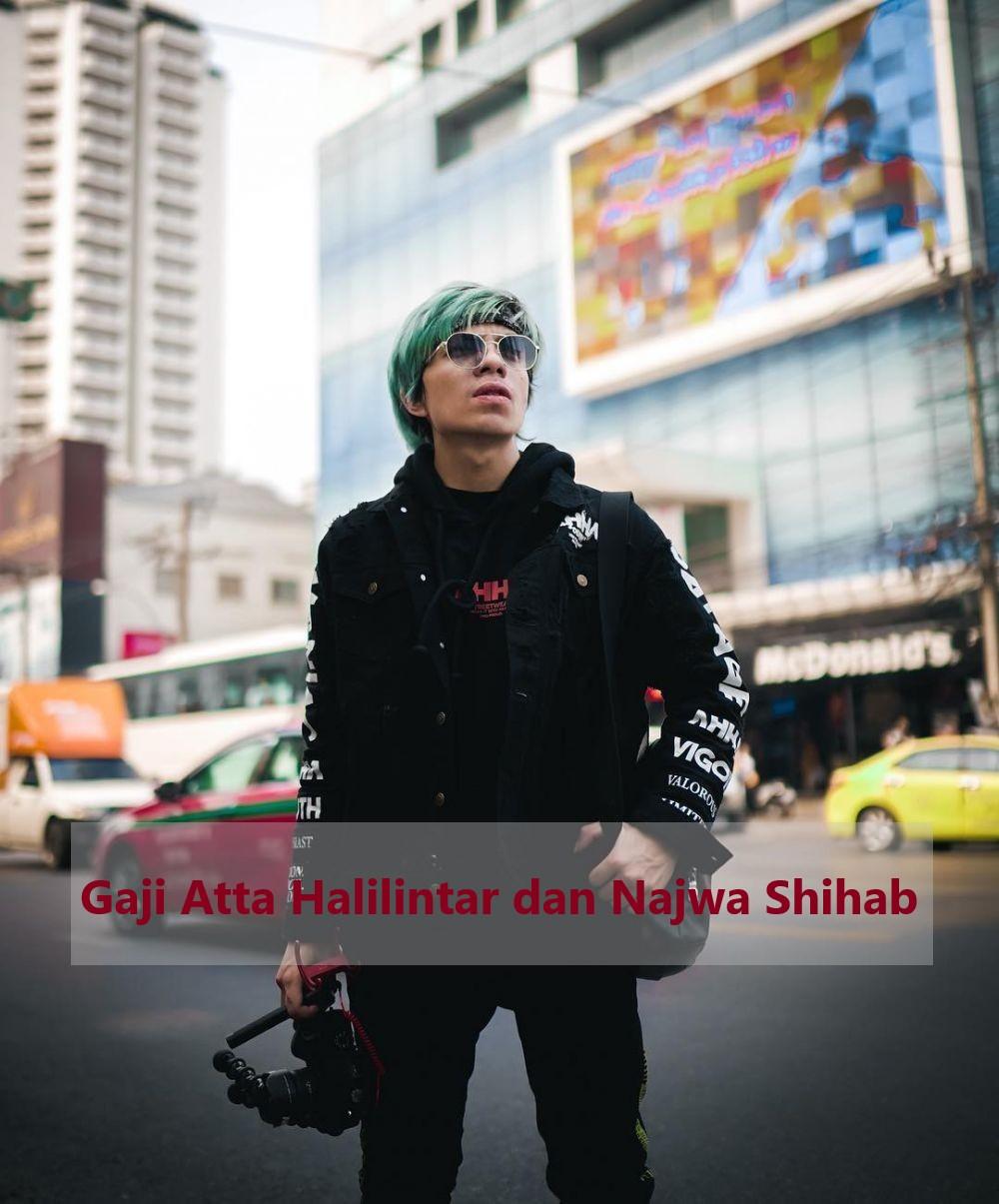 Gaji Atta Halilintar dan Najwa Shihab